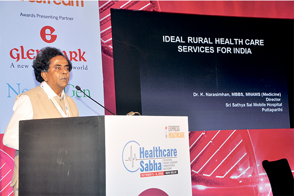 Healthcare Sabha 2018 | Mobile hospitals will improve healthcare in