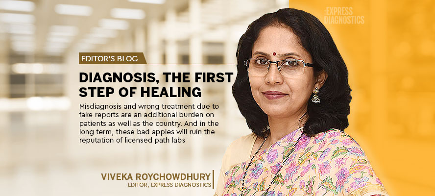 Diagnosis, the first step of healing - Express Healthcare